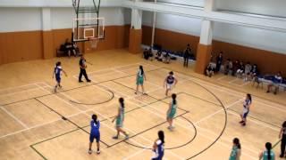 2014-2015 中學校際籃球比賽 第三組 (九龍二區) 女子組 旅商開平 vs 滙知