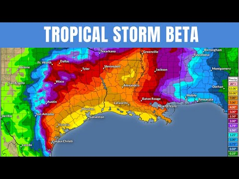 Tropical Storm Beta Major Impacts - POW Weather Channel