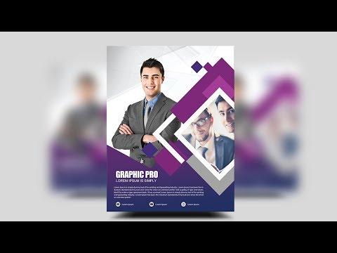 Modern & Professional Business Flyer - Photoshop Tutorials thumbnail