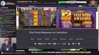 Casino Slots Live - 21/10/19 *CASHOUT!*