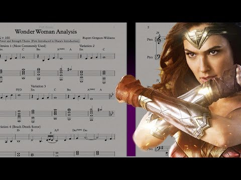 BTS Special: The Musical Themes of Wonder Woman