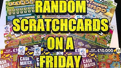 Random Scratchcards On A Friday