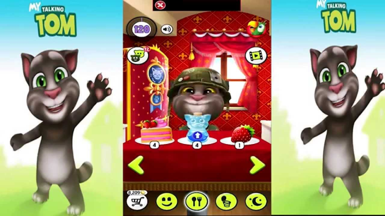 talking tom level