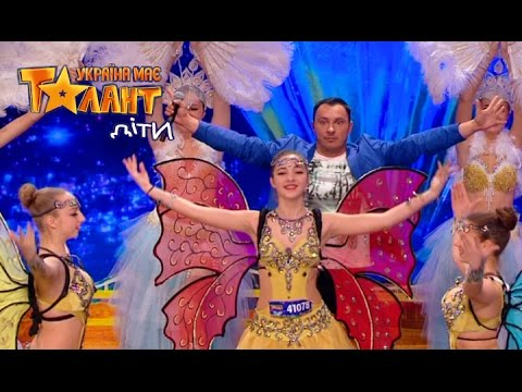 The young creative team with an incredibly beautiful dance on Ukraine's Got Talent.