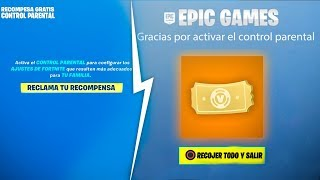 CLAIM NOW! YOUR FREE PARENTAL CONTROL REWARD in Fortnite! (Little Time)
