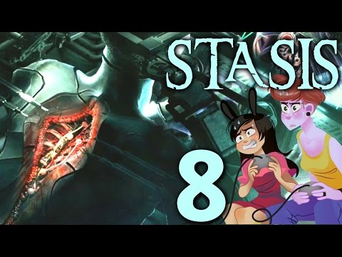 Stasis - 2 Girls 1 Let's Play Part 8: Spinal Tap