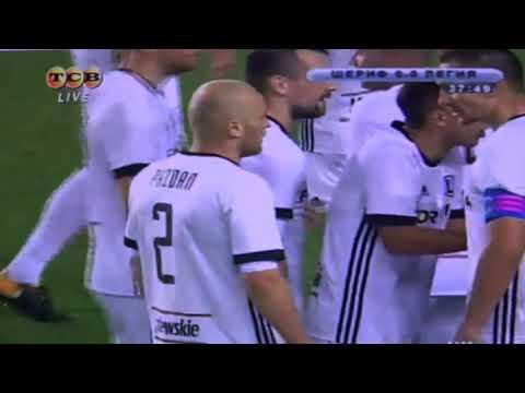 Pazdan wyrzucony z boiska w meczu Sheriff Legia