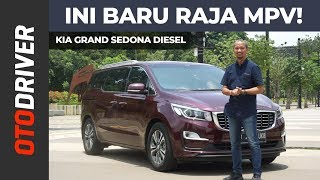 KIA Grand Sedona Diesel 2019 Review Indonesia | OtoDriver