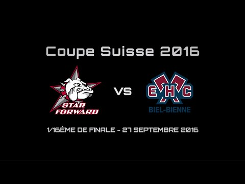 Coupe Suisse 2016/17 Star Forward vs EHC Biel/Bienne