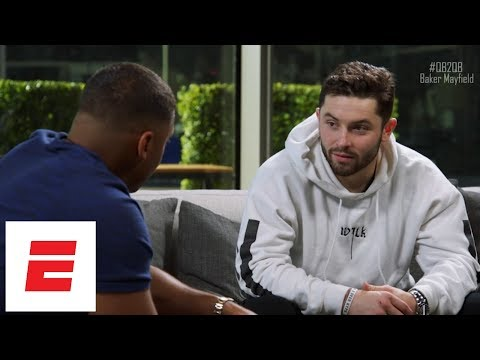 Russell Wilson sits down with Baker Mayfield to ask him about off-the-field behavior | QB2QB | ESPN