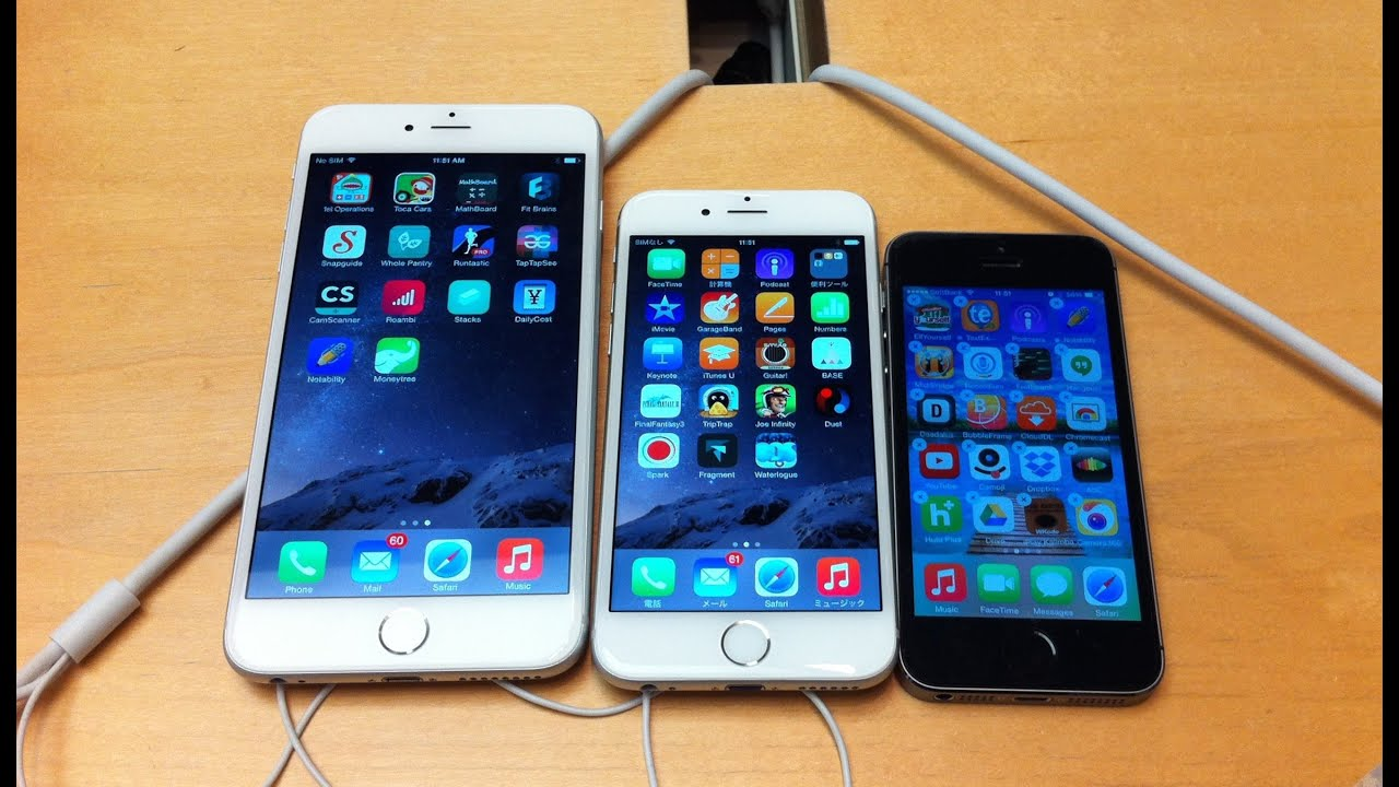 iphone japan. japan iphone 6 vs plus - hands on review comparison by tkviper.com iphone