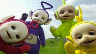 Ridiculous Teletubbies Video.  Adult Grown Men Playing with dolls.
