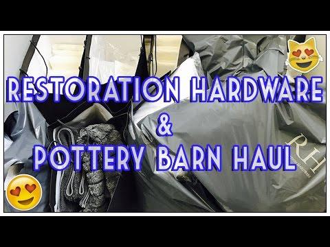 RESTORATION HARDWARE & POTTERY BARN HAUL
