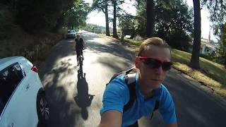 Флоренция (Firenze) на велосипедах. Вид сверху + спуск.