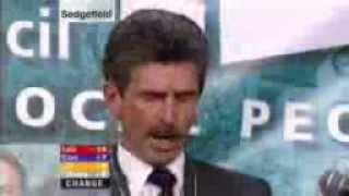 Reg Keys 2005 Sedgefield Election Speech