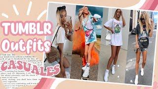 50 Urban Outfits Casuales 2020 Tumblr Vsco Baddie Girl Para Adolescentes Moda Primavera Verano Youtube