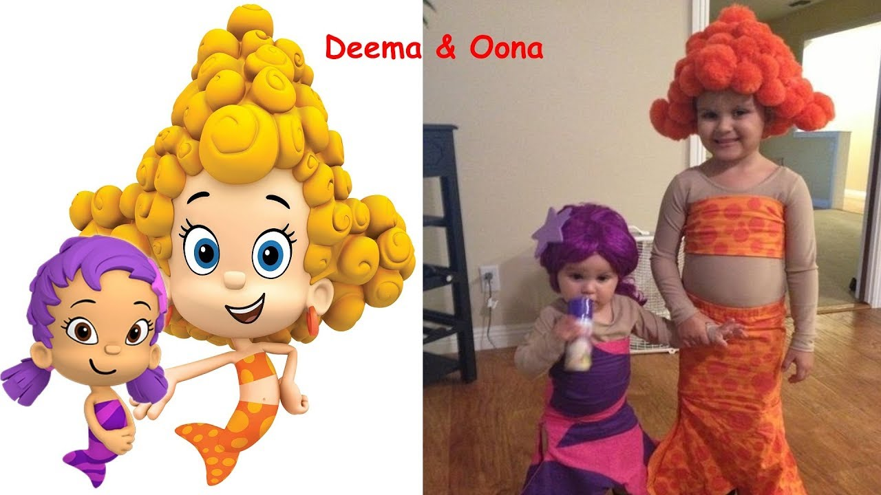Bubble Guppies Characters In Real Life