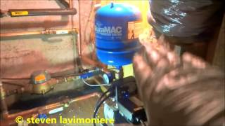 low city water pressure booster pump install 2 of 2