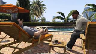 Grand Theft Auto V 5 PC Walkthrough Part 4 1080p 60 fps Alienware 18 No Commentary Gameplay