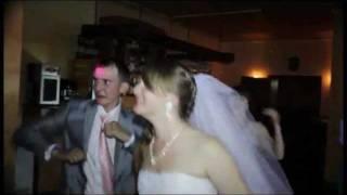 Свадьба.Жених и невеста.Танцевальная пауза на свадьбе.