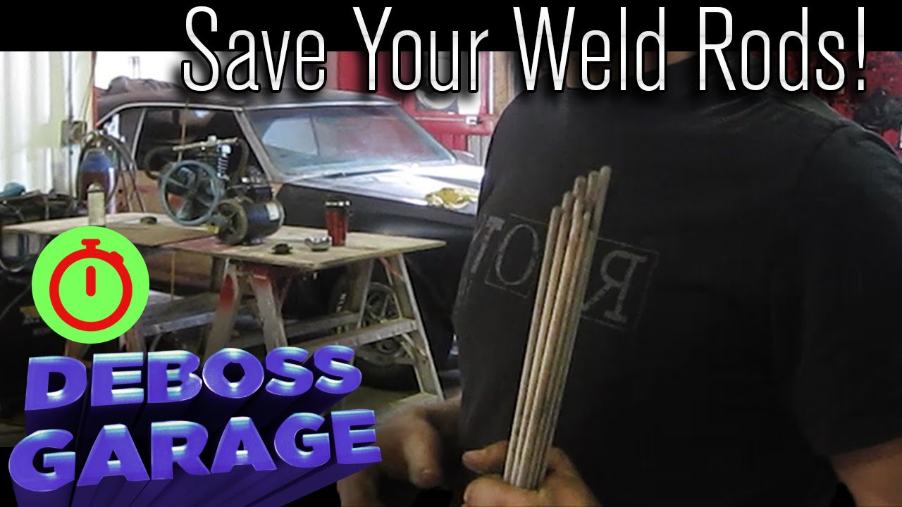 How To Redry Welding Rods