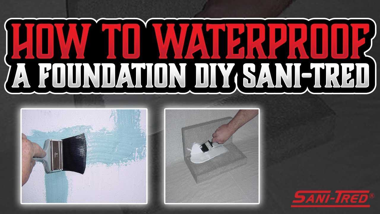Sani Tred Basement Waterproofing Reviews Part - 47: How To Waterproof Basement Step By Step With Sani-Tred