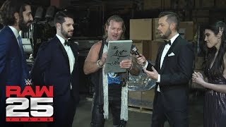 Chris Jericho puts everyone in sight on The List: Raw 25 Fallout, Jan. 22, 2018