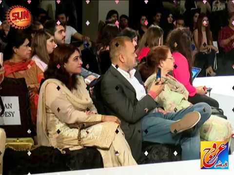 KARACHI: Fashion Pakistan Week Winter Festive 2017. DAY 03