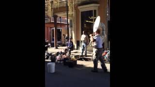�������� ���� #1 США,  уличный афро-американский джаз  - jazz street band. ������