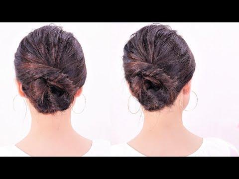 超簡単!たった2ステップで簡単に髪を結ぶ方法