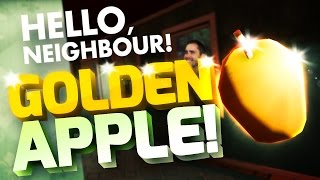 HERE IT IS! GOLDEN APPLE PARODY! My Neighbour Golden Apple Quest - Hello Neighbour Alpha Fynnpire