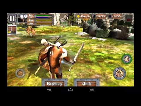 Heroes and Castles - осада замка на Android (обзор / review)