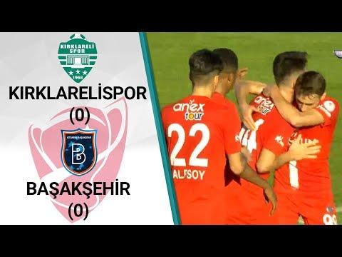 Kırklarelispor 0-0 Başakşehir (Ziraat Türkiye Kupası Son 16 Turu Rövanş Maçı)