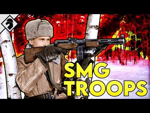Soviet Stormtroopers: WW2 Submachine Gun Units   Organization & Tactics