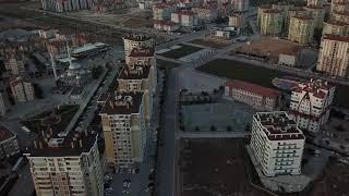 Konya Selçuklu 1500 metre havada drone ile gezinti