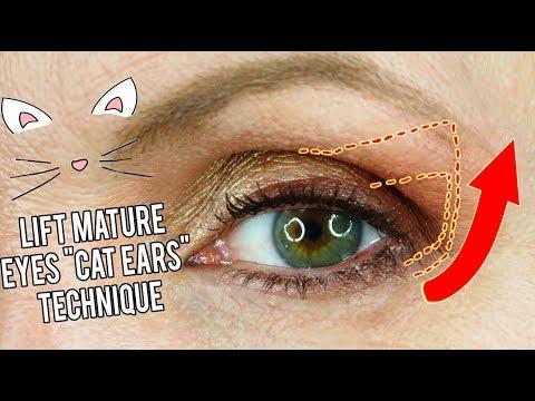 Best eyeshadow for mature hooded eyes