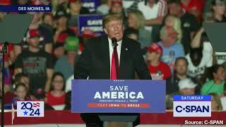 Trump: Americans Must Stand Against Biden and