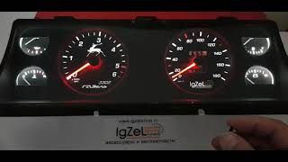 Спец заказ для ГАЗель 3302 переделка приборной панели от IGZEL LED Tuning / igzelledtuning