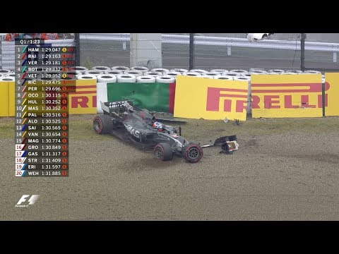 2017 Japanese Grand Prix: Qualifying Highlights