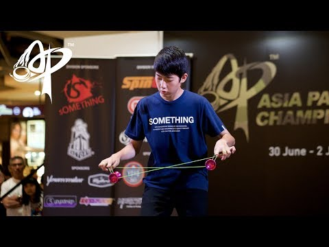 Hajime Miura (JP): 3A Division Finals - Asia Pacific Yo-yo Championships 2017
