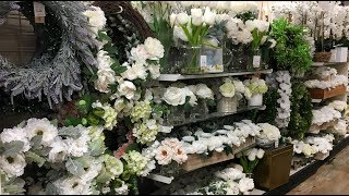 Shop with me Home Goods and Ross Spring  2018  Home Decor