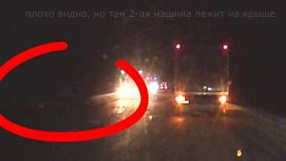 авария на трассе Елец Липецк 08 12 2017