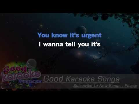 Urgent -  Foreigner (Lyrics Karaoke) [ goodkaraokesongs.com ]