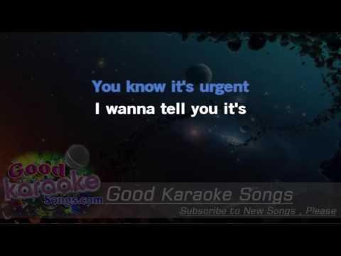 Urgent -  Foreigner (Lyrics Karaoke) [ goodkaraokesongs.com ]