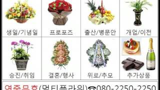전화번호 080-2250-2250 상록꽃배달 꽃집 전국…