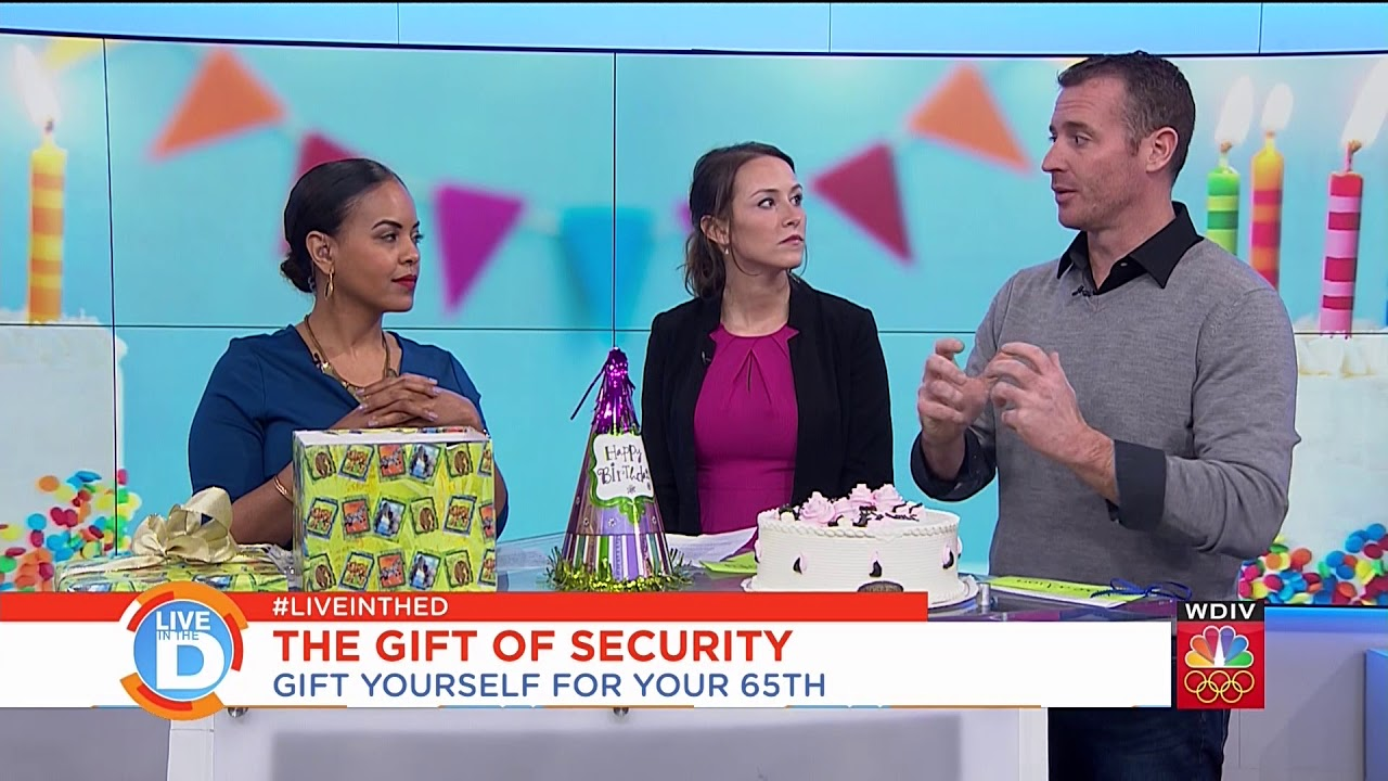 Give Yourself 3 Gifts For Your 65th Birthday Detroit WDIV Channel 4 News Segment