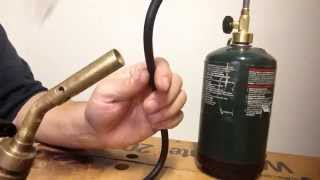 Tool review Bernzomatic propane torch extension hose wow!