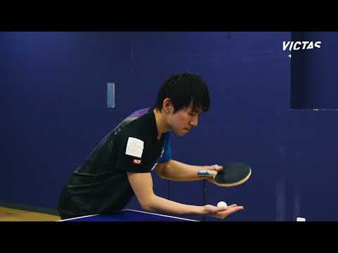 Koki Niwa - Service Technique #3 By VICTAS
