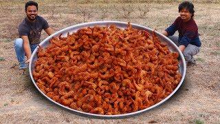 Prawn Popcorn Recipe | Easy Shrimp Popcorn | Spicy & Crispy Prawns Popcorn | Grandpa Kitchen