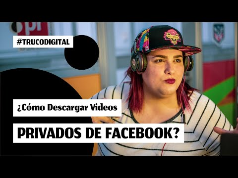 Como descargar videos privados de facebook 2021